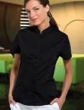 Bargear Ladies Short Sleeve Mandarin Collar - KK736