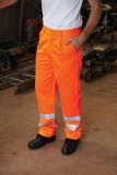 High visibility poly/cotton work trousers