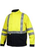 Flame retardant lined jacket