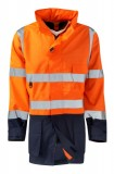 High visibility Orange/Navy
