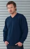 French Navy V neck sweatshirt
