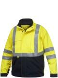 Flame retardant unlined jacket