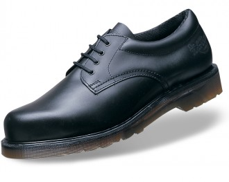 Dr Martens safety shoe with DMS sole