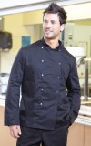 Black chef jacket