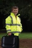 Childrens Hi Vis Bomber Jacket