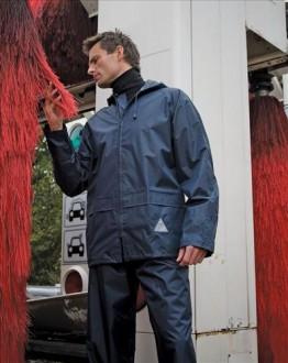 Navy Blue rain suit