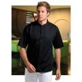 Mandarin collar bar shirt