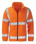 Hi Vis Orange Fleece Jacket