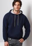 Navy/Sport Grey contrast hoody