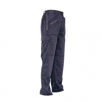Ladies action trousers with knee pad pockets